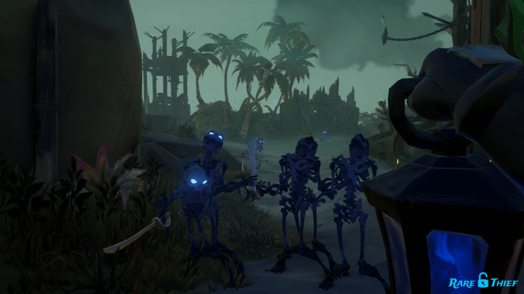 Shining a Light on Shadows of Fate Skeletons