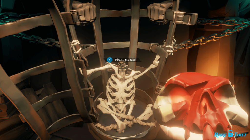 Place Ritual Skull