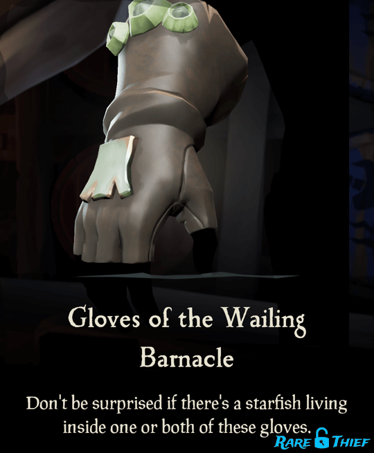 Gloves of the Wailing Barnacle