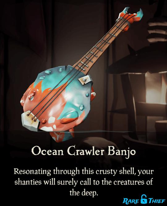 Ocean Crawler Banjo