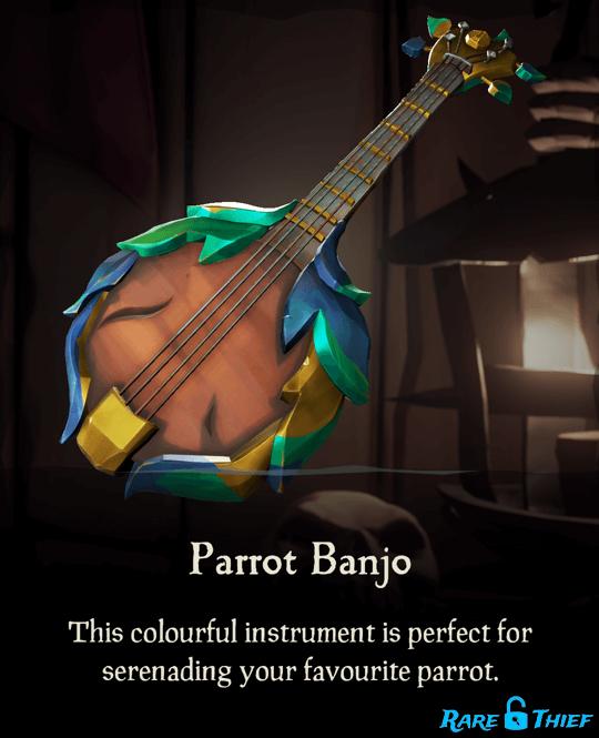 Parrot Banjo