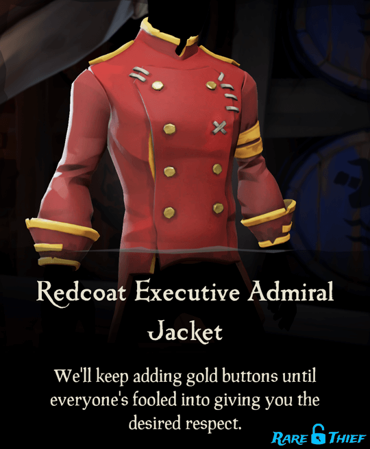 Redcoat Executive Admiral Jacket