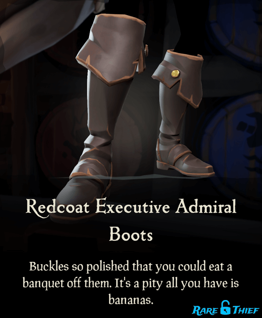 Redcoat Executive Admiral Boots