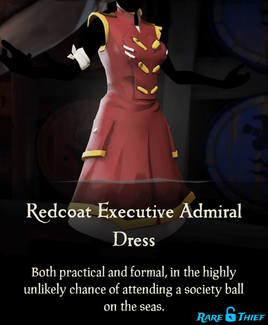Redcoat Executive Admiral Dress