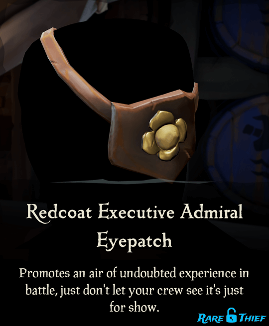 Redcoat Executive Admiral Eyepatch