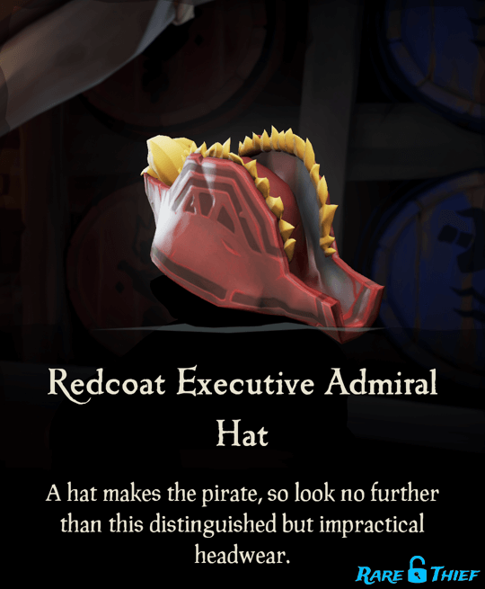 Redcoat Executive Admiral Hat