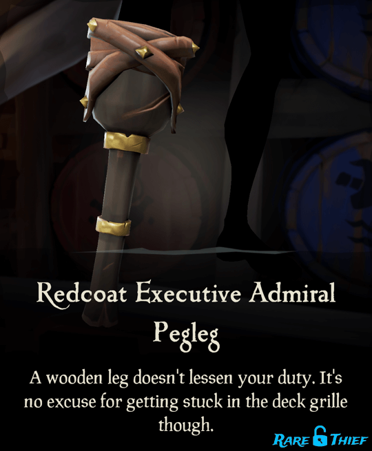 Redcoat Executive Admiral Pegleg