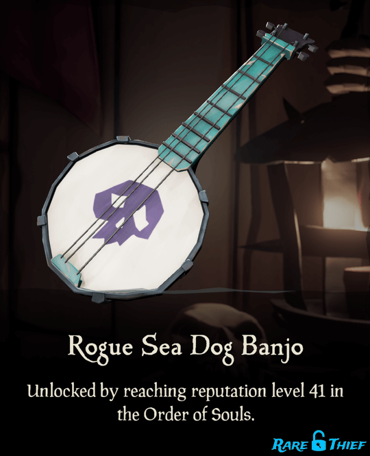 Rogue Sea Dog Banjo