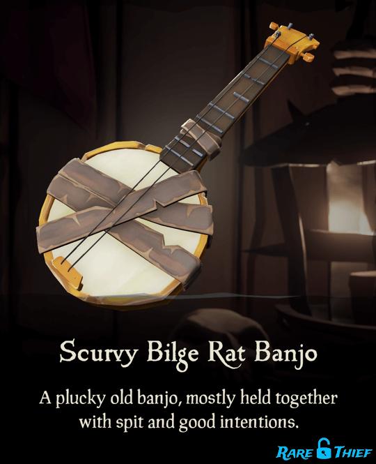 Scurvy Bilge Rat Banjo