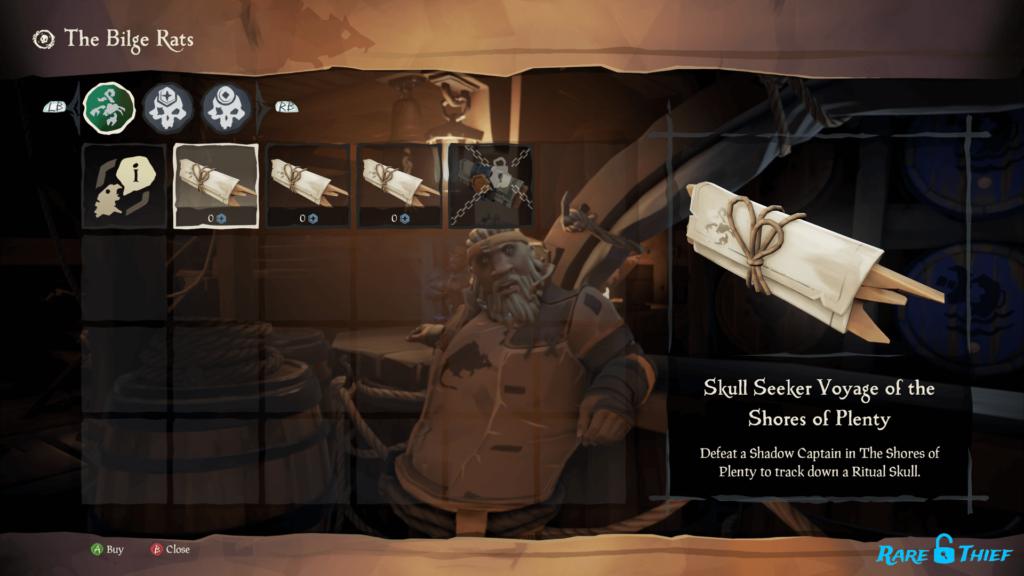 Skull Seeker Voyage
