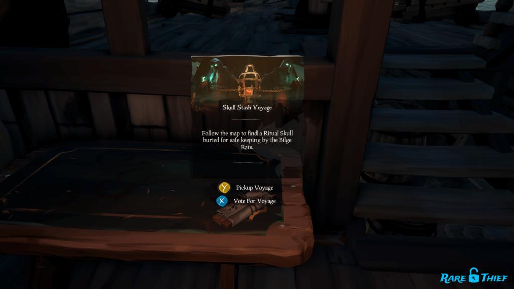 Skull Stash Voyage Vote