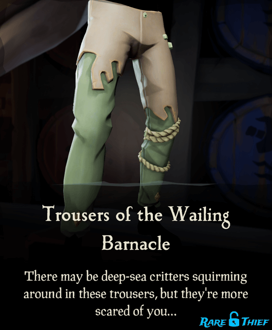 Trousers of the Wailing Barnacle