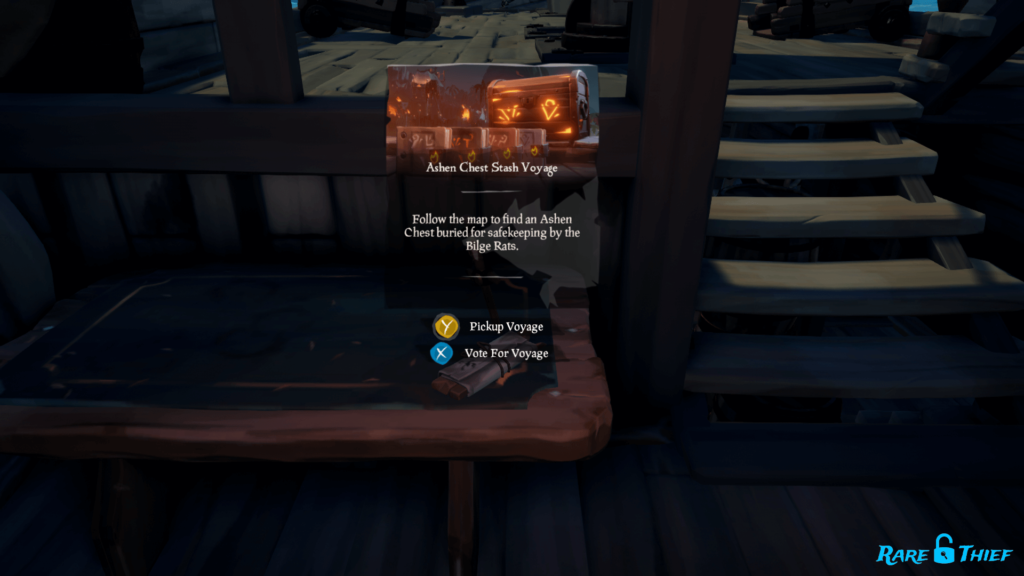 Ashen Chest Stash Voyage