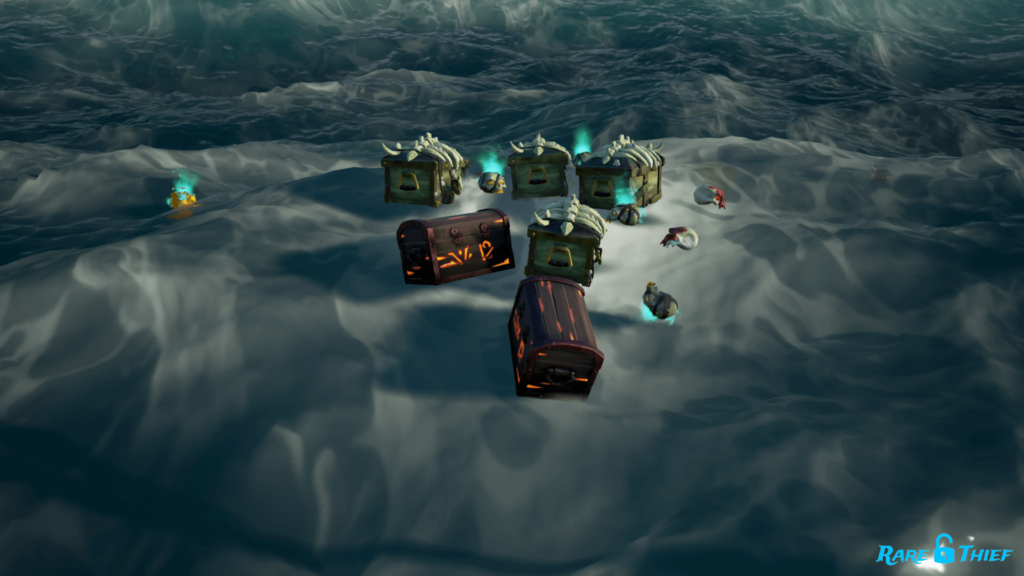 Ashen Skeleton Ship Battle Loot