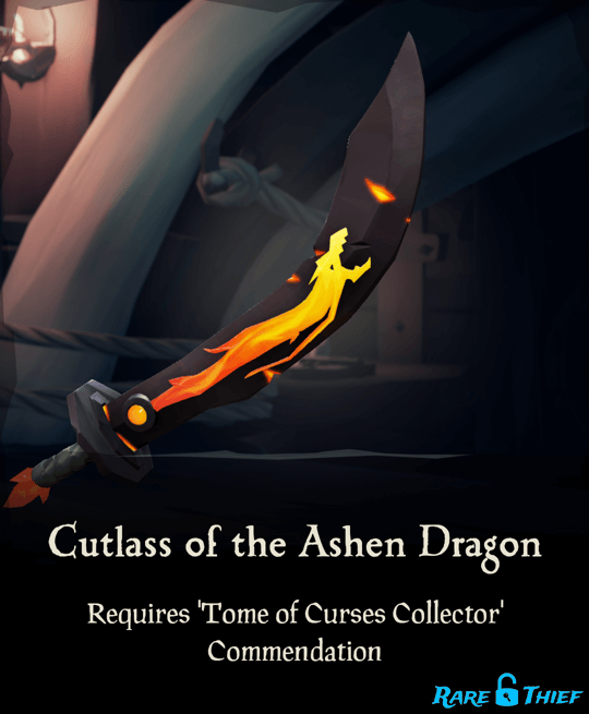 Cutlass of the Ashen Dragon