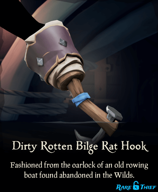 Dirty Rotten Bilge Rat Hook