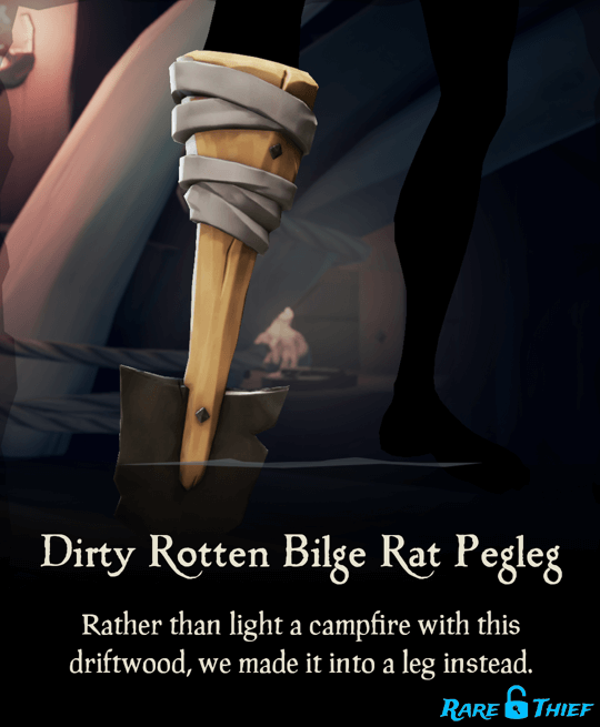 Dirty Rotten Bilge Rat Pegleg