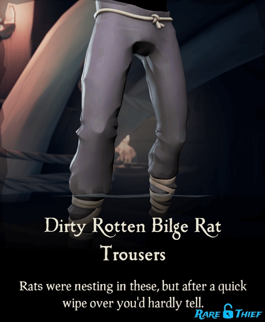Dirty Rotten Bilge Rat Trousers