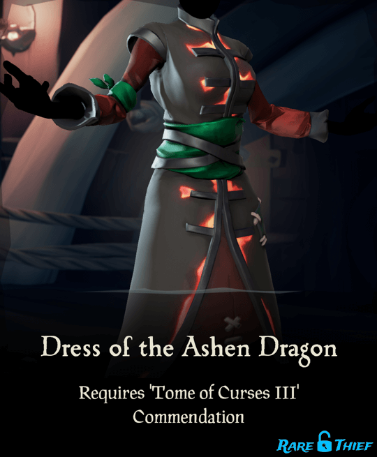 Dress of the Ashen Dragon