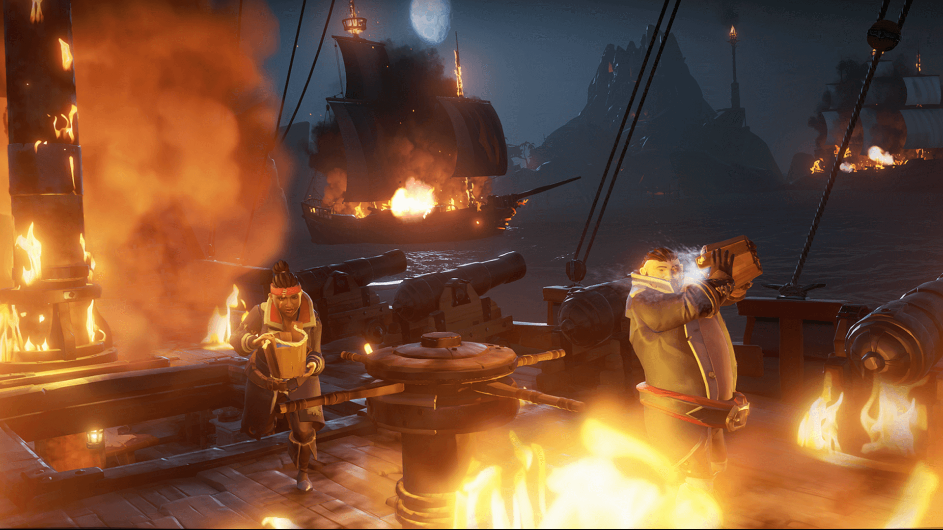 Sea Of Thieves How To Set The World On Fire Rare Thief