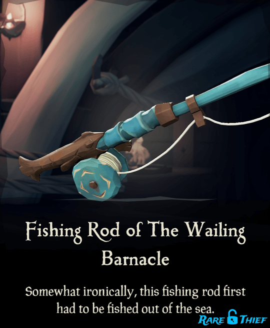 Fishing Rod of the Wailing Barnacle