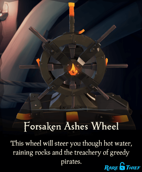 Forsaken Ashes Wheel
