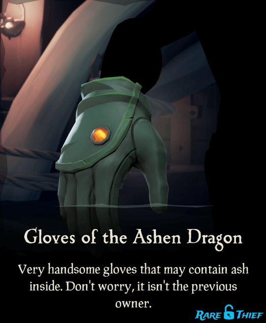 Gloves of the Ashen Dragon