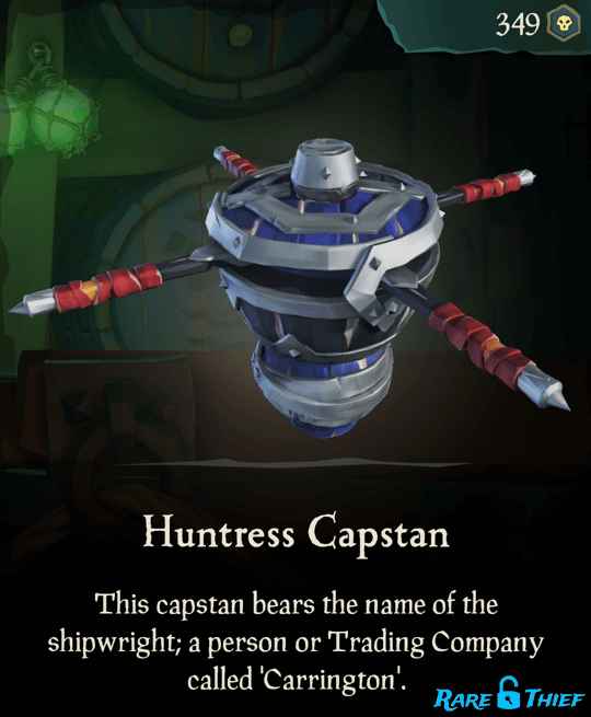 Huntress Capstan