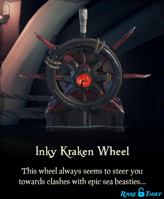 Inky Kraken Wheel