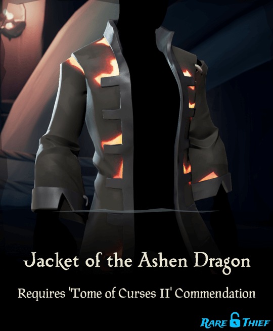 Jacket of the Ashen Dragon