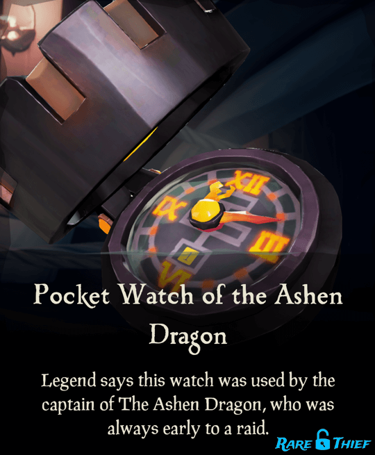 Pocket Watch of the Ashen Dragon