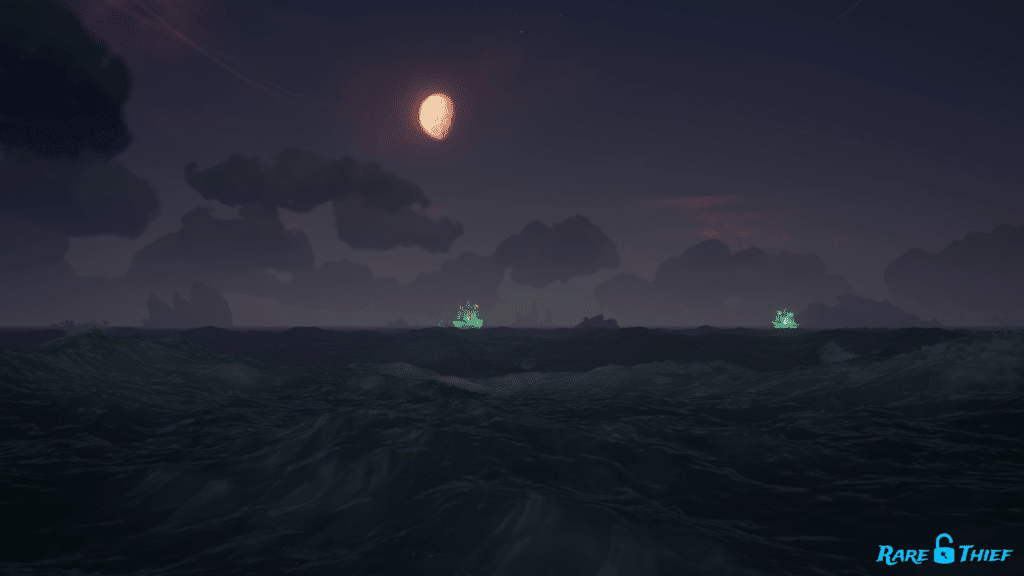 First Lost Soul Ship Sighting Island