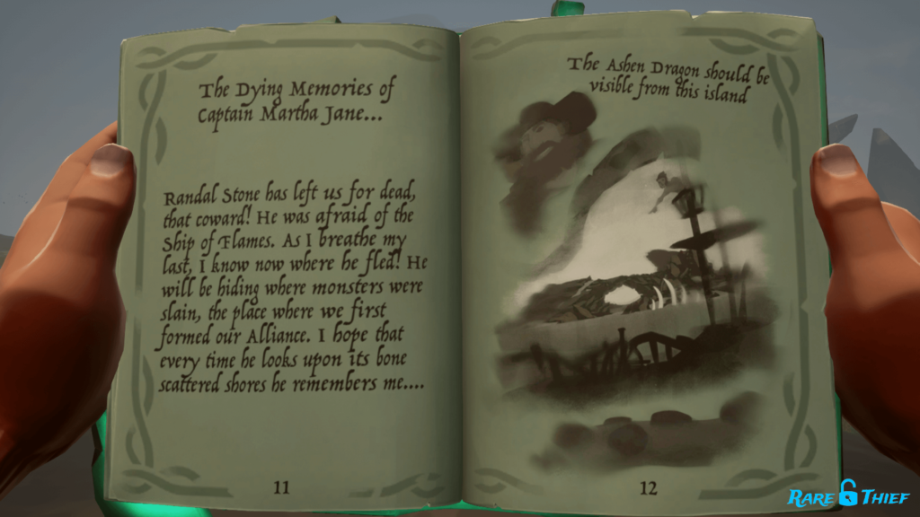 Sea of Thieves Seabound Soul Krakens Fall Clue