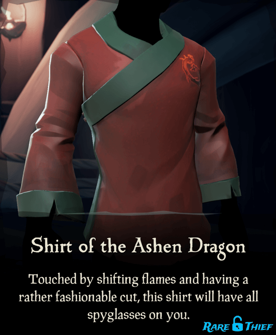 Shirt of the Ashen Dragon