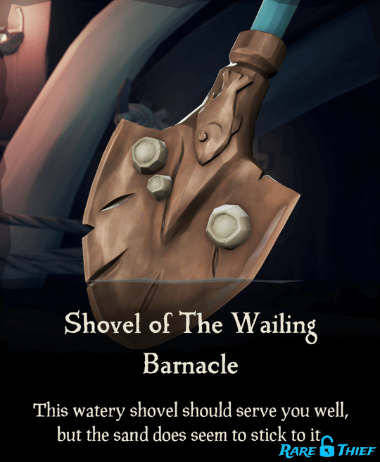 Shovel of the Wailing Barnacle