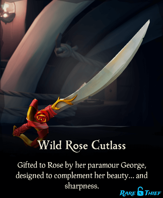 Wild Rose Cutlass