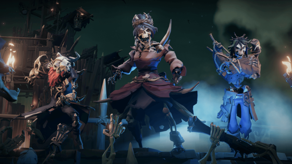 Skeleton Lords on Ashen Skeleton Forts