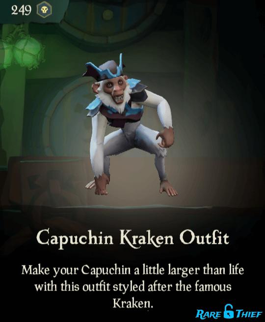 Capuchin Kraken Outfit