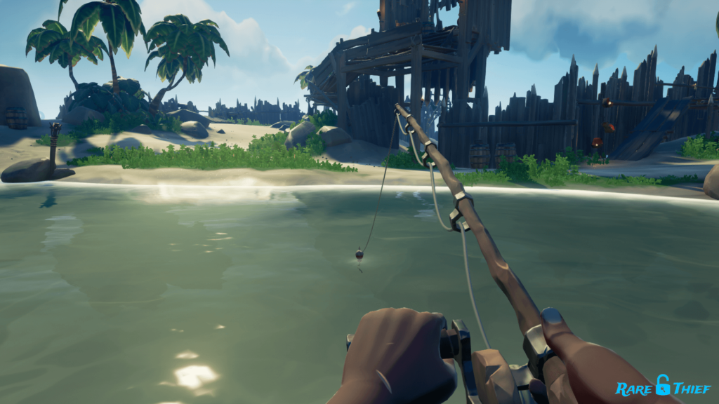 Fishing for Ashen Key