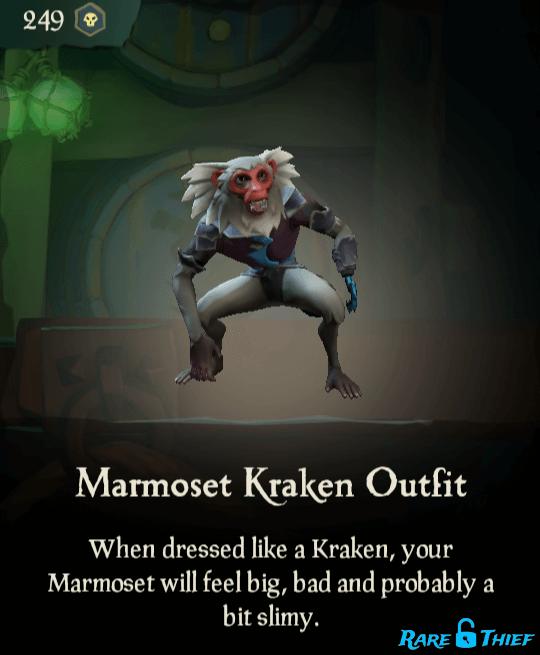 Marmoset Kraken Outfit