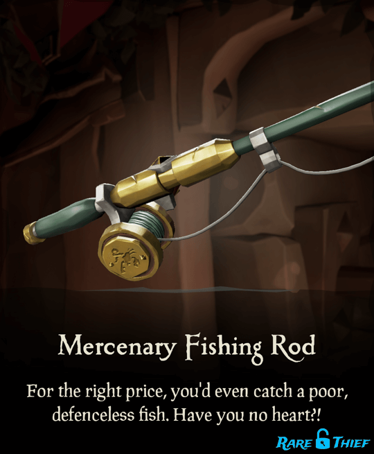 Mercenary Fishing Rod