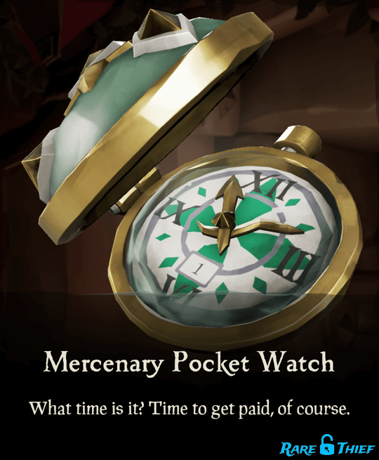 Mercenary Pocket Watch