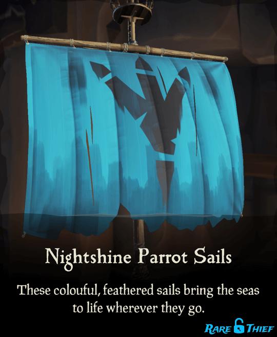 Nightshine Parrot Sails
