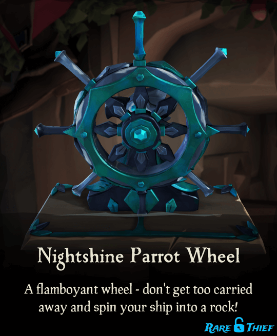 Nightshine Parrot Wheel