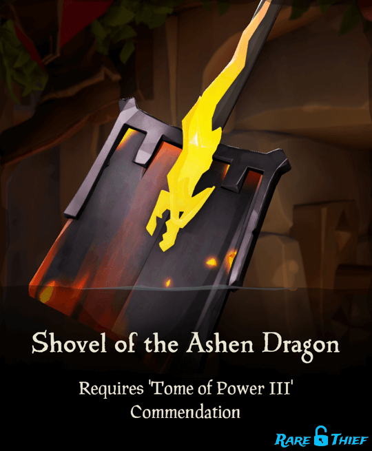 Shovel of the Ashen Dragon