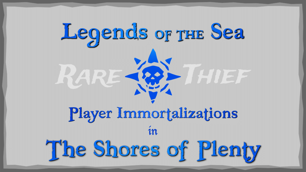 Legends of the Sea in the Shores of Plenty