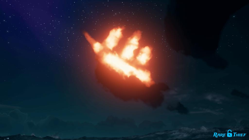 Ashen Skeleton Ship Cloud