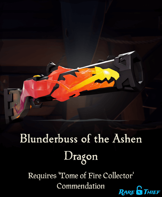 Blunderbuss of the Ashen Dragon
