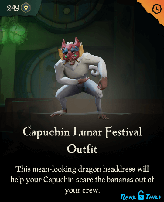 Capuchin Lunar Festival Outfit