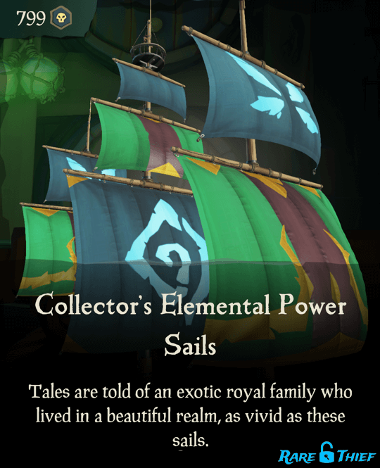Collector's Elemental Power Sails